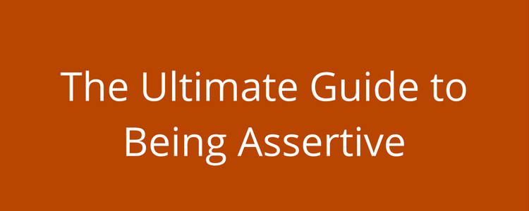 Free resources guide to being assertive