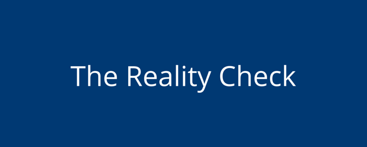 Personality Test - The Reality Check