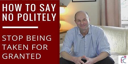 say no politely