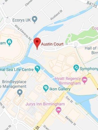 Birmingham Venue Map