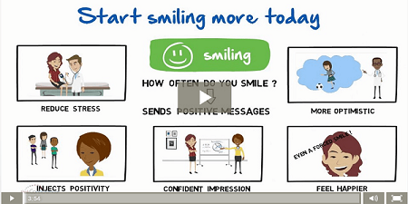 learning to smile video - small